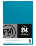 File Master Manila Folders Foolscap Blue 50 Pack