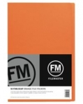 File Master Manila Folders Foolscap Orange 50 Pack