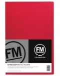 File Master Manila Folders Foolscap Red 50 Pack