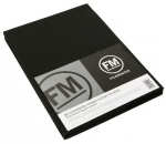 File Master Double Pocket Presentation Folder 10 Pack Black