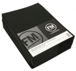 File Master Double Pocket Presentation Folder 50 Pack Black