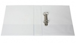 File Master A4 PVC Insert Cover 2/50 Ring Binder White