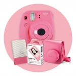Fujifilm Instax Mini 9 Camera - Pink with Limited Edition Gift Pack + Hell Pizza Voucher by Redemption!