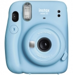Fujifilm Instax Mini 11 Camera - Sky Blue + Hell Pizza Voucher by Redemption!