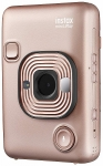 Fujifilm Instax Mini LiPlay Hybrid Camera & Printer - Blush Gold