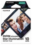 Fujifilm Instax Square Film with Star Illumination Frame - 10 Pack
