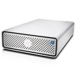 G-Technology G-DRIVE 4TB USB-C Thunderbolt 3 External Hard Drive