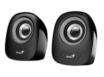 Genius SP-Q160 6W USB Powered Portable Mini Speakers - Black