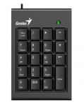 Genius Numpad 100 Wired USB Numeric Keypad - Black