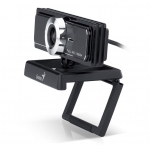Genius WideCam F100 Full HD Wide Angle Webcam with Stereo Microphone