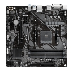 Gigabyte A520M-DS3H AMD AM4 A520 Micro ATX RGB Gaming Motherboard