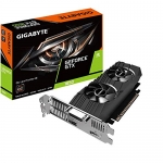 Gigabyte Geforce GTX 1650 OC 4GB GDDR5 Overclocked Low Profile NVIDIA Video Card - 1x DisplayPort, 1x HDMI, 1x DVI-D