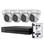 HiLook IK-4385TH-MMP 5MP 8-Channel Surveillance Camera Kit with 3TB HDD