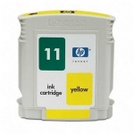HP #11 C4838A Yellow Ink Cartridge