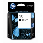 HP 15 Black 25ml Ink Cartridge