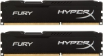 Kingston HyperX Fury 16GB (2X8GB) DDR3 1600MHz Non-ECC Unbuffered Black Memory