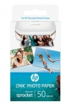 HP Sprocket ZINK Glossy Sticky-Backed 2x3 290gsm Photo Paper - 50 Sheets