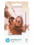HP Sprocket ZINK Glossy Sticky-Backed 2.3x3.4 290gsm Photo Paper - 20 Sheets