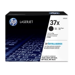 HP 37X Black High Yield Toner Cartridge