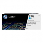 HP 508X Cyan Laser Toner Cartridge