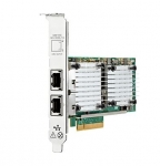 HPE 530T 10GB PCI-E x8 2 x RJ-45 Twisted Pair Ethernet Card