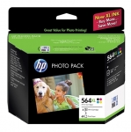 HP 564XL High Yield Ink Cartridge Photo Value Pack - Black, Cyan, Magenta, Yellow