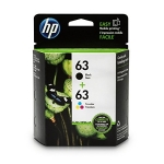 HP 63 Photo Value Pack - Black, Tri-Colour, 4x6 Paper