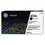 HP 654X Black High Yield Toner Cartridge