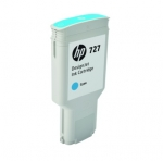 HP 727 300-ml Super High Yield Cyan Ink Cartridge