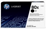 HP 80X Black High Yield Toner Cartridge