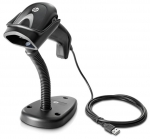 HP Imaging Handheld Barcode Scanner 2D USB - Black