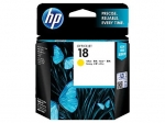 HP 18 Yellow Ink Cartridge