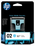 HP 02 Light Cyan Ink Cartridge