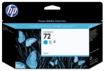 HP 72 Cyan Ink Cartridge 130ml