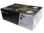 HP 78A Black Toner Cartridge - Twin Pack
