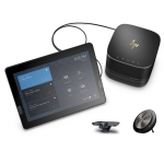 HP ELITE SLICE + JABRA PANACAST CAMERA & SPEAKERPHONE BUNDLE FOR TEAMS