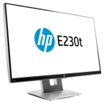 HP EliteDisplay E230t 23 Inch 1920 x 1080 5ms IPS Touch Monitor with USB Hub - VGA HDMI DisplayPort