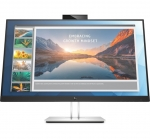 HP EliteDisplay E24d 23.8 Inch 1920 x 1080 5ms 250nit IPS Docking Monitor with Webcam - HDMI DisplayPort USB-C