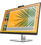 HP EliteDisplay E27d G4 27 Inch 2560 x 1440 2K 5ms 300nit IPS Monitor with USB Dock & Webcam - DisplayPort USB-C