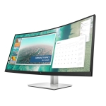HP EliteDisplay E344c 34 Inch 3440x1440 4ms 400nit Widescreen VA Curved Monitor with USB Hub - HDMI DisplayPort