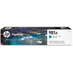 HP 981A Cyan Ink Cartridge