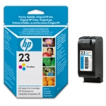 HP No23 C1823D Tri-Color Ink Cartridge for HP Deskjet 1125c