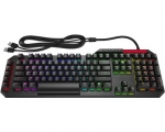 HP Omen USB Wired RGB Backlit Gaming Keyboard