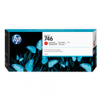 HP 746 DesignJet Chromatic Red 300ml Ink Tank Cartridge