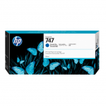 HP 747 DesignJet Chromatic Blue 300ml Ink Tank Cartridge