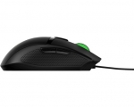 HP Pavilion 300 USB Wired Optical Gaming Mouse - Black Cable