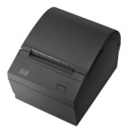 HP USB Serial Thermal Receipt Printer - Black