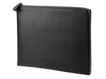 HP 13.3 Inch Spectre Black Leather Sleeve