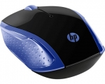 HP 200 Wireless Ambidextrous Optical Mouse – Navy Blue