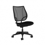Humanscale Liberty Task Office Armless Chair - Black